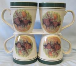 Cabelas Folkcraft Woodland Moose Large Mug - $32.56