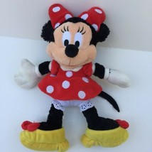 "Walt Disney World Classic Plush Minnie Mouse Stuffed Animal Doll 10"" Lovey - $10.10"