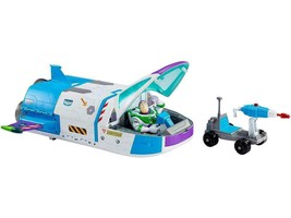 Mattel Disney Pixar Toy Story Buzz Lightyear & Star Command Spaceship wi... - $51.48
