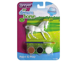 <><  Paint Your Own my Drean Horse 1:32 stablemate size Arab  4207 - $8.32
