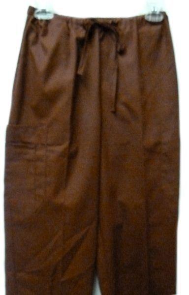 Fern Tan Jacket Cinnamon Scrub Pants Bottoms XS Scrub Set New image 3