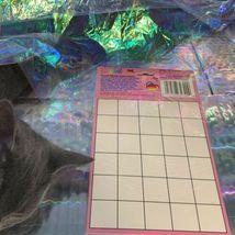 SEALED NEW OLD STOCK Lisa Frank Puzzle Sticker WOW JUMBO Hollywood Bear Rare HTF image 4