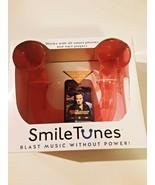 Smile tunes smartphone speaker -blast music without power-sound amplifier - $19.79