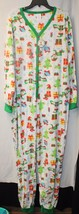 NEW WOMENS PLUS SIZE 3X CHRISTMAS HOLIDAY DROPSEAT UNION SUIT 1PC PAJAMA... - $26.11