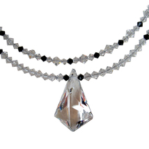 Double Strand Crystal Vibe Necklace image 2