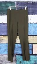Lauren Ralph Lauren 8 Grün Stretch Gestrickt Wollmischung Gerades Bein A... - $29.68