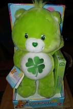 "Good Luck Bear Care Bear Plush 12"" w/VHS Tape NWT - $64.35"