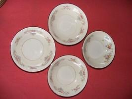 "4 Homer Laughlin Wedgwood 5 1/8"" Fruit Dessert Bowls Eggshell Georgian - $19.95"