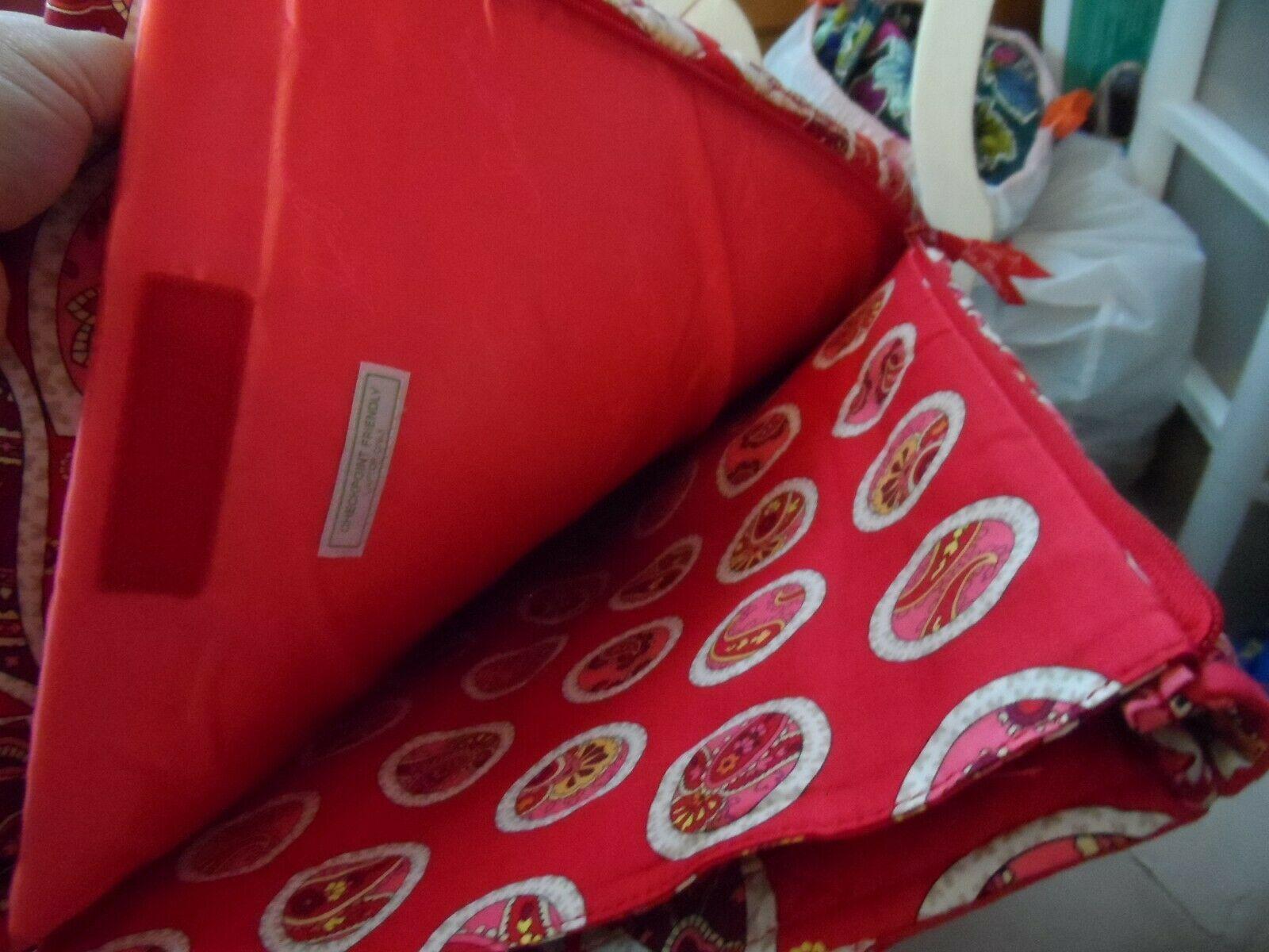 Vera Bradley laptop Travel Tote In Rosy Posies image 4