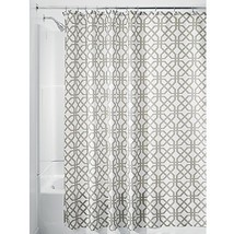 InterDesign Trellis Shower Curtain, Stall-Sized Water-Repellent and Mold... - $14.79
