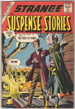 Strange Suspense Stories Comic Book #58 Charlton Comics 1962 FINE- - $14.98