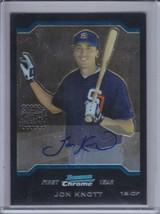 JON KNOTT 2004 Bowman Chrome RC Autograph #350 (C5746) - $2.66