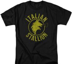 The Italian Stallion Rock Balboa Philadelphia Boxer Tee Retro 70's 80's MGM209 image 2