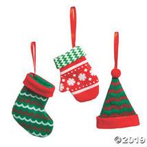 Hat, Stocking & Mitten Ornaments - $18.50