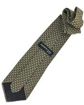 New KENNETH COLE New York SILK TIE Olive & Gold Men's Neck Tie Designer - $13.95