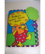Sassy Baby's Sense-Ations Book Sassy Soft Baby Book Teether Toy - $5.32