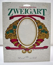 "Zweigart Linda 27 Count Cross Stitch Fabric White Cotton 14""x18"" New Old Stock - $12.30"
