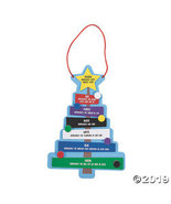 Colors of Faith Christmas Tree Craft Kit - $13.25