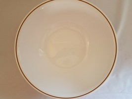 "Corelle Wild Flower Large 10"" Serving Bowl Brown white - $12.61"