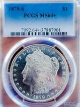 1879 S MS64+ PLUS  MORGAN SILVER DOLLAR/   KEY DATE * - $161.70