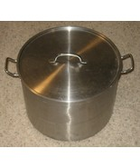 ~~~Classic Brew Kettle with Cover~ExcelSteel~8 Gallon (32 Qts) Stainless... - $35.00