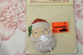 Crossroads Mini Treasures Brand Santa Claus Face Head Leewards Crafting ... - $16.62