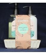 Ellen Tracy Duo Bergamot and Citrus Hand Soap & Lotion12.2 fl oz w Ceram... - $21.87