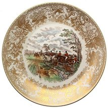 Spode Hunting Scenes Full Cry produced from engravings after J F Herring LE of 2 - $108.29
