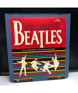 SELECTAVISION VIDEO DISC vintage videodisc movie ced Beatles compleat co... - $54.45