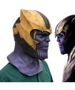 New Endgame Thanos Mask Infinity War Avengers EndGame Costume Mask Handmade - $44.85