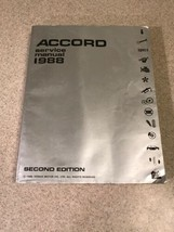 1988 Honda Accord Factory Automotive Service Manual  - $12.99