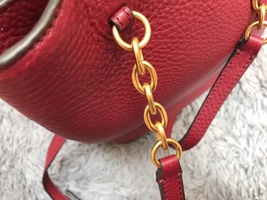NWT Tory Burch Georgia Pebbled Backpack image 4