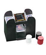 Automatic Card Shuffler-4DECK - $11.49