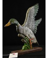 Country Duck Taking Flight Mantel Sculpture NWT Character Collectibles R... - $29.65