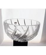 Dorotheenhuette Serving Bowl Vintage Hand-Cut 24% Lead Crystal (W. Germa... - $44.47