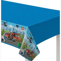 Lego City Plastic Tablecover 1 Per Package Birthday Party Supplies New - $8.86