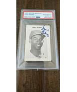1969 Milton Bradley Signé Auto Carte Ernie Banks Chicago Cubs Hof PSA DN... - $199.70