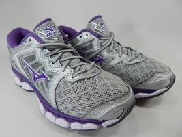 Mizuno Wave Sky Size US 7.5 M (B) EU 38 Women's Running Shoes Silver Purple