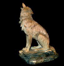 Wolf Figurine AB 252 Vintage image 3