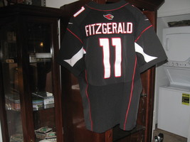 CARDINALS LARRY FITZGERALD AUTHENTIC NIKE HOME JERSEY(48)EMBRIODED! - €30,62 EUR