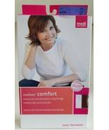 Mediven Comfort Calf Compression Socks Closed Toe Natural 15-20 IV  - $34.65