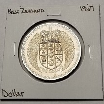 1967 New Zealand 1 Dollar World Coin - Decimalization Commemorative - $5.99
