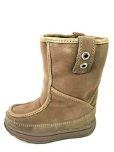 TIMBERLAND TODDLERS BOOTS WINTER MID 36876 MUKLUK JEWEL TONES BEIGE - $26.99+
