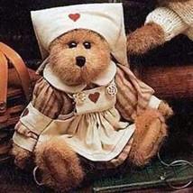 """Boyds Bears """"Bailey"""" #9199-09 - 8"""" Nurse Bear- 1998- NWT- Retired - $29.99"""
