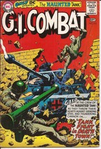 DC G.I. Combat #113 The Haunted Tank Fight In Death Town Military Action - $29.95