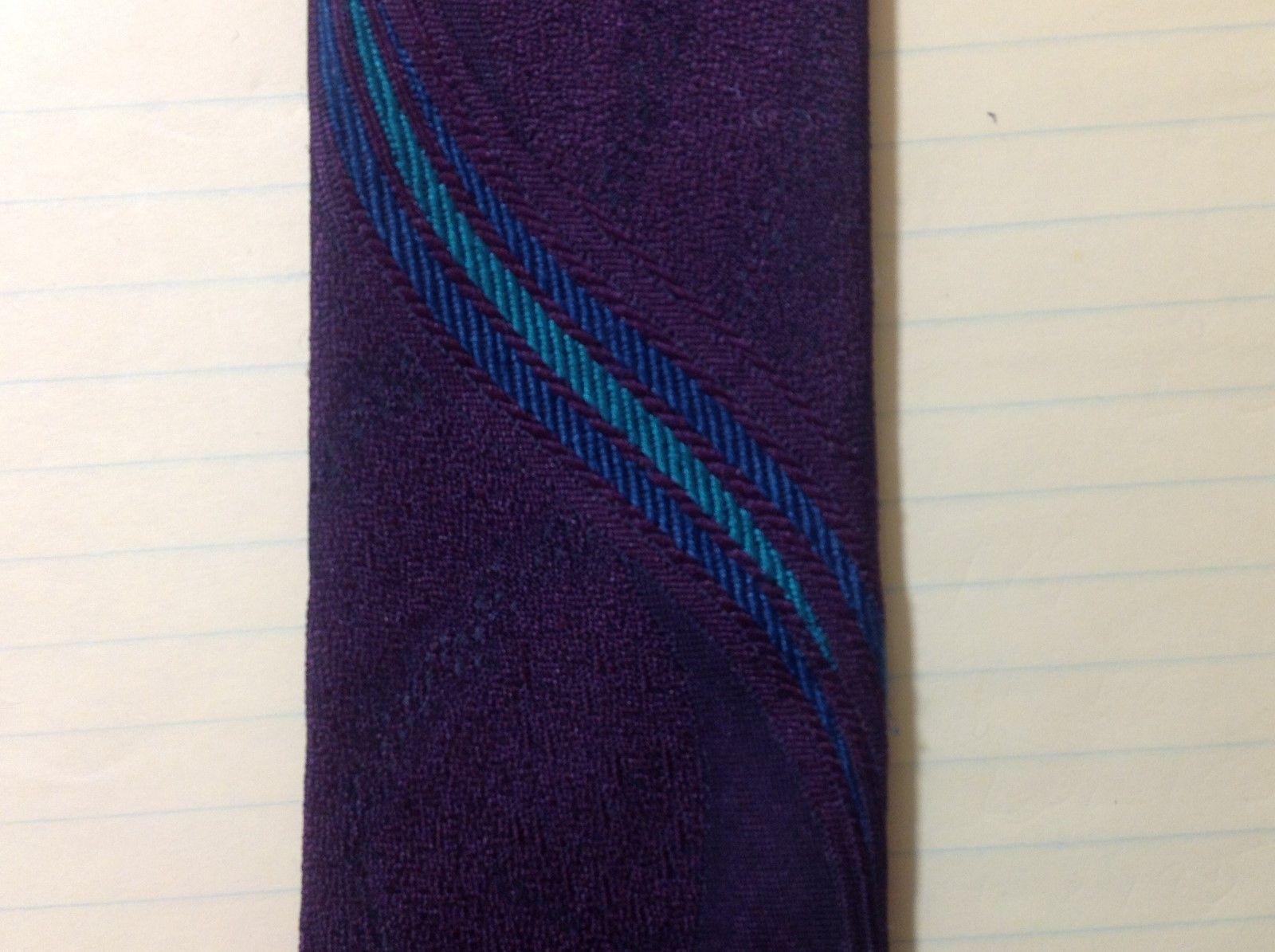Elaan Multicolor Silk Blend Skinny Tie
