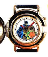 Batman And Robin LTD Rare Fossil Made For DC Comics Button Flip Cover Wa... - $113.70