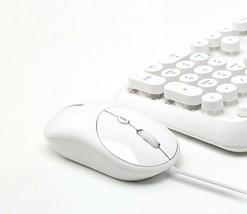 iRiver Bubble IR-M10 USB Wired Mouse 2000 DPI Adjustment Ergonomic (White) image 2