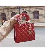 Tote bag New Fashion High Quality Patent Leather Women's Designer Handbag - £29.26 GBP