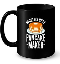 Worlds Best Pancake Maker Ceramic Mug Brunch Cook Chef Ceramic Mug - $13.99+
